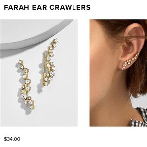 ✨ BaubleBar Farah Ear Crawlers ✨